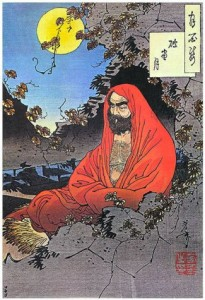 bodhidharma-watching-over-gazzmans-internet-marketing-temple-of-learning